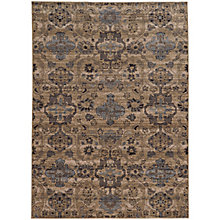 "Vintage Abstract Area Rug 5'3""W x 7'6""D, 8825482"