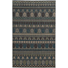"""Vintage Abstract Area Rug 7'10""""W x 10'10""""D, 8825487"""
