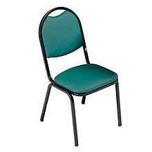 Round Back Stack Chair, VIR-8917