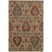 "Voyage Abstract Area Rug 7'10""W x 10'10""D, 8825498"