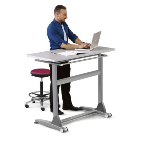 Use as a sit-stand workstation