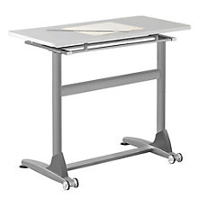 "Standing Height Tilt-Top Table - 48""W, 8801862"