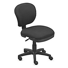 Compact Armless Task Chair , 8802941