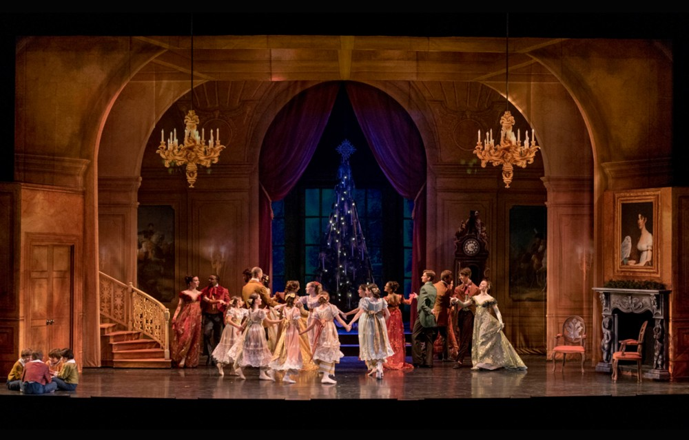 Realistic Looking Backdrop Panels, The Nutcracker