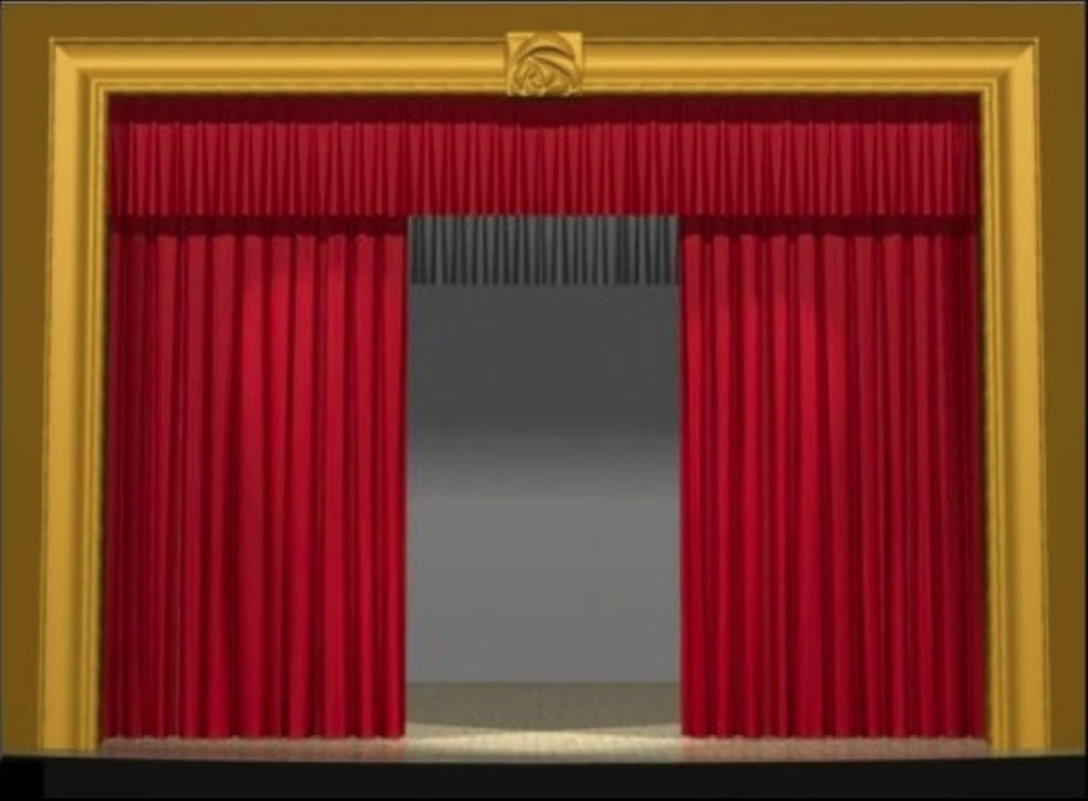 Stage Curtain Demonstrations