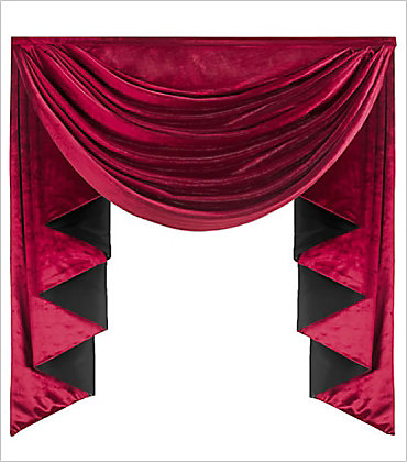 Jabot Sometimes Called Waterfalls Are Fabric Panels That Typically Cascade Down The Side Of Or Between Swags They Often Have A Complementary As