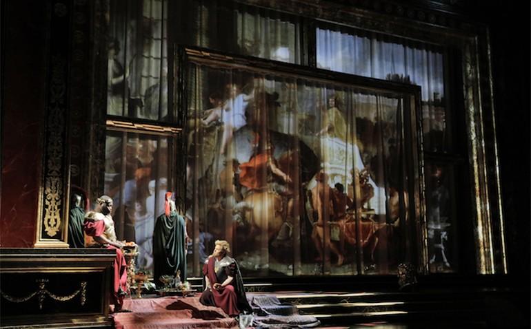 LA Opera Cotton Scrim Backdrop