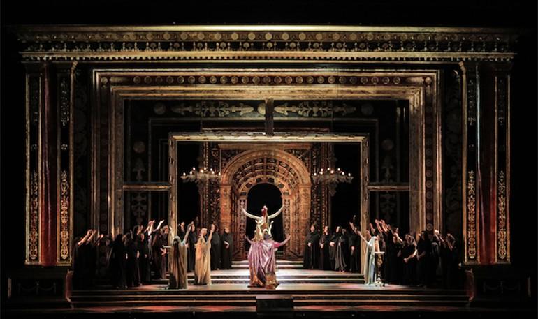 LA Opera Temple Drops