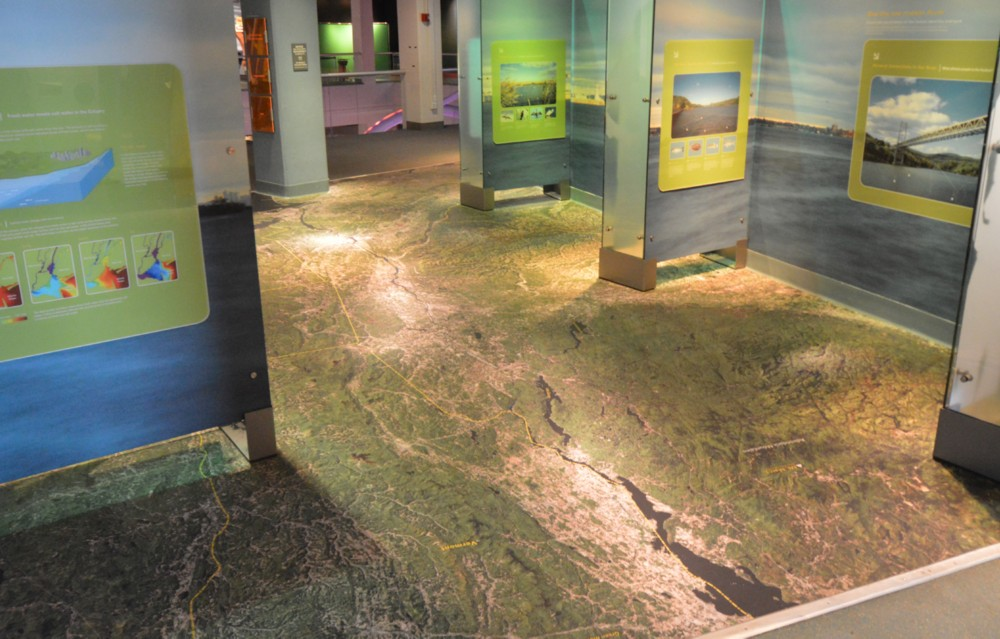 Printed Impact™ Floor at Liberty Science Center