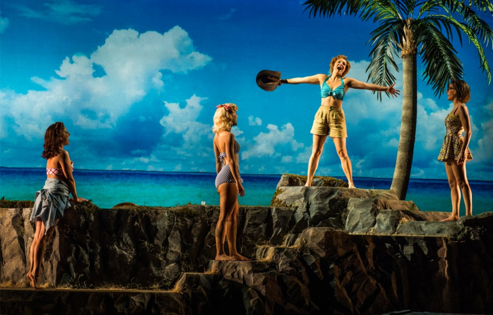 "A Lightbox Backdrop for ""South Pacific"""