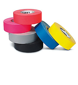 click to get information or to buy all types of tape including gaffers