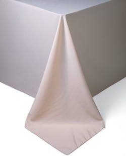 pointed corner tablecloth