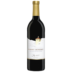 MerlotPrivate Selection Mondavi Californie 2008, $18.95