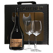 Product image J.P. Chenet gift box 2 glasses and a bottle 750ml Merlot Cabernet 2016