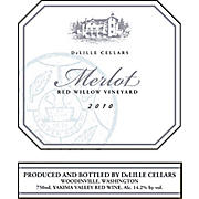 Product image DeLille Merlot Red Willow 2010