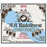 Product image A.A. Badenhorst Family Red Blend 2015