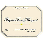 Product image Bryant Family Vineyard Cabernet Sauvignon Napa Valley 2011