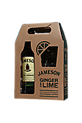Jameson Irish Whiskey + Coffret cadeau 2 verres