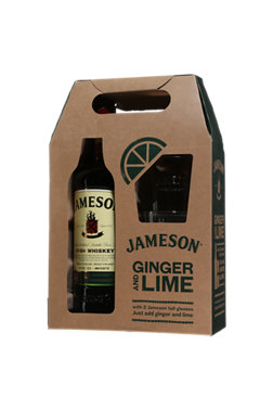 Jameson Irish Whiskey + Gift Pack 2 glasses | Irish whiskey | 12745587 | SAQ.com