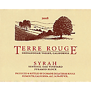Terre Rouge Sentinel Oak Vineyard Pyramid Block 2009