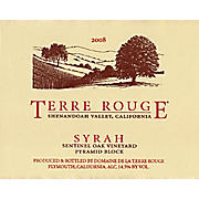 Image du produit Terre Rouge Sentinel Oak Vineyard Pyramid Block 2009