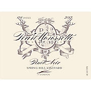 Product image Pearl Morissette Spring Hill Vineyard Pinot Noir 2012