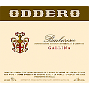 Barbaresco Gallina Oddero 2013