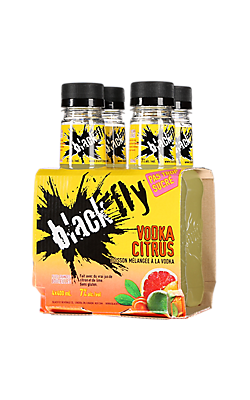 Black Fly Vodka Citrus (citron et lime)