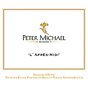 Peter Michael Sauvignon Blanc L'Après-Midi Knights Valley 2016