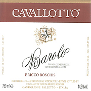 Cavallotto Bricco Boschis 2013