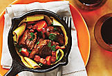 Dark beer-braised beef