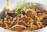 Cassoulet (lamb and duck)
