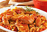 Cassoulet (pork and duck)