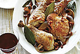 Red Wine Braised Turkey