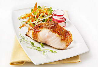 Black cod fillet with miso