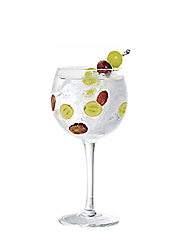 Gin tonic raisin