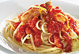 Chicken and tomato linguine