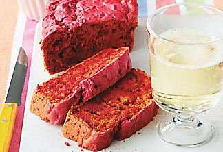 Beet-red bread