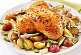Chicken with fennel and tarragon