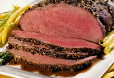 cuisson roast beef four