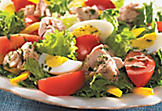 Niçoise salad with pastis
