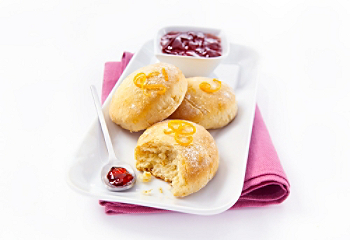Scones aux zestes d'orange