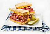 Sandwichs au smoked meat