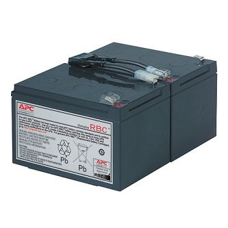 APC Replacement Battery Cartridge #6 fits s