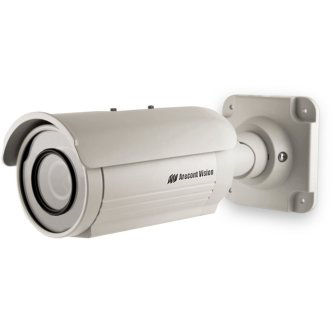 AV1225 Camera Stellar 1.2MP 37fps IR D/N 3-9m m F1.2 P-Iris IP66 Fan SD