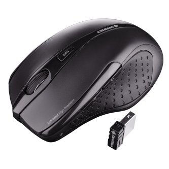 MC 1000 USB mouse, Black, 3 button, 1200