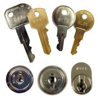 MMF Locks & Keys 635-2505-B108