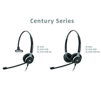 62e8a55926b Sennheiser Century Series Headsets. SEN-507254