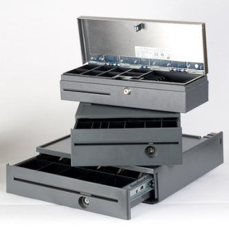 FC4509 - USB Compact Cash Drawer w/horiz