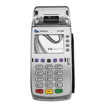 VX520 CTLS,NAA DIAL/ETH,128/64 MB,STD KE